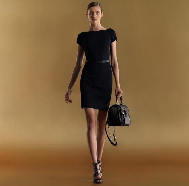 модные мифы черное платье